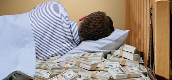 Покойный во сне давал деньги