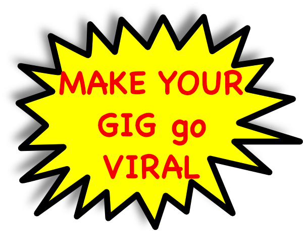 Make your SEOClerks Gigs GO VIRAL by Embedding your Affiliate Link & Coupons into our Social Media Sharing Tool