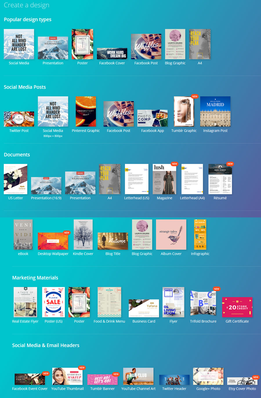 Canva infographic makers