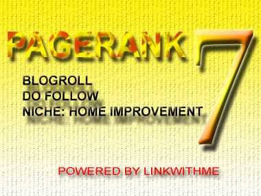 give you permanent homepage dofollow backlink from my PAGERANK 7 blog