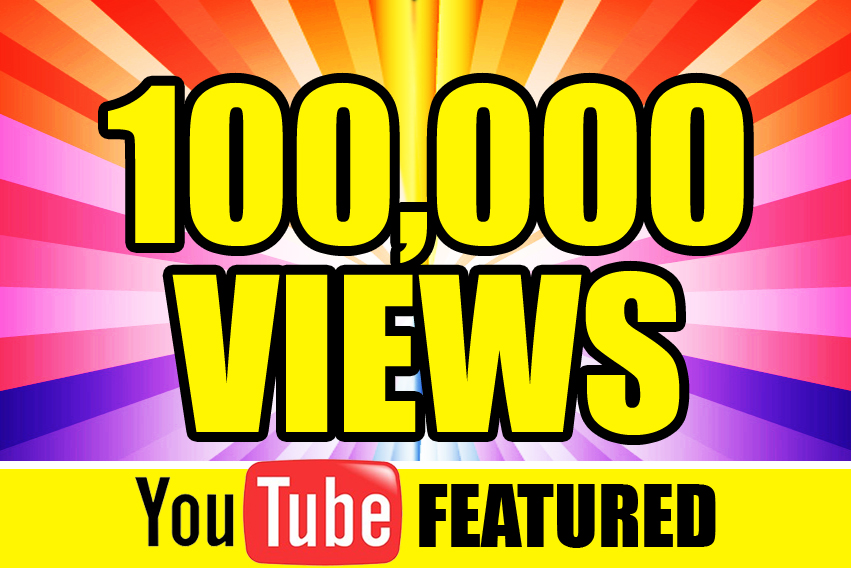 Provide you 100,000+ YOUTUBE Views + Likes and + Subscribers Guaranteed within 72hrs - 96 hrs