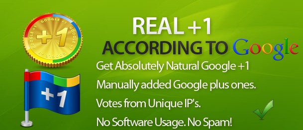 Instantly Deliver 100 Google +1 Within 15 Mins