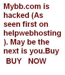 tell how to safe your website (mybb.com is hacked)