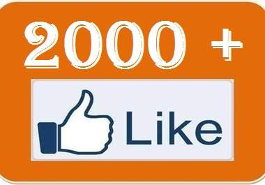 Add 2000 Facebook Likes or Fans to Your Fanpages, Website, Photo etc... Without Admin Access + Bonus Tweet Your Page to 110,000 Followers