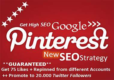 blast your website with POWERFULL pinterest backlinks from many accounts and promote to 20000 twitter followers
