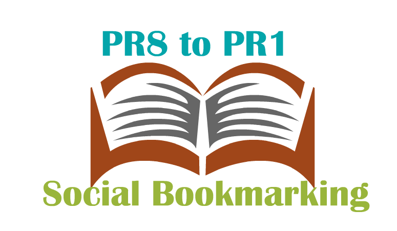create 100 High Quality PR8 to PR1 bookmarking sites for your blog or site