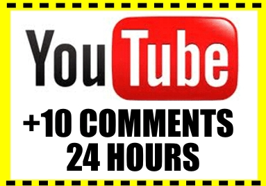 deliver 10 COMMENTS Your Youtube VIDEO in 24 hours