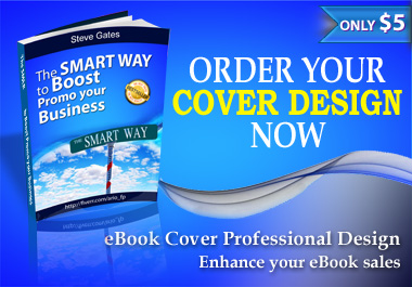 design professional looking eBook, eBox, CD covers or Membership Cards