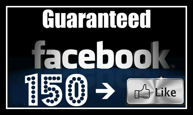 Give You Guaranteed 150 Likes to your Facebook Fan Page