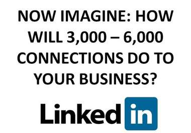 get you up to 6000 NEW LinkedIn connections from real LinkedIn members who can enhance your LinkedIn Network