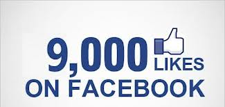 give you 9000+ FACEBOOK likes fans