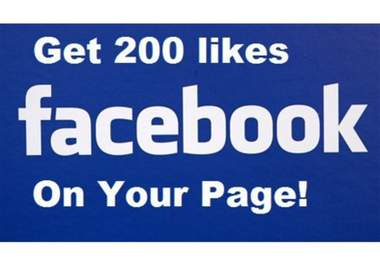 deliver 200 facebook fans in 24 hours to any fanpage