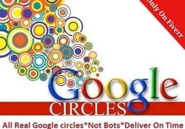give you 320+ Circles Google+ Plus , SEO rocket up your high rank on google search engine 