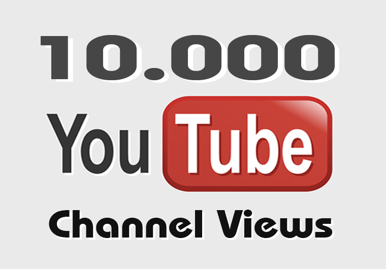 give you around 10,000 views to your YouTube CHANNEL