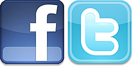 share your site on Facebook with over 19000 fans and on Twitter with 10500 followers
