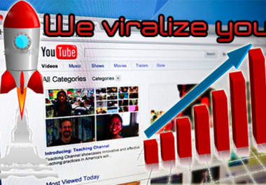 Give You Guaranteed 11,000 Youtube Views to Your Video
