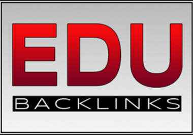 500 **EDU** links for your website, edu links for any type of url through blog comments