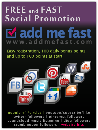 give you addmefast account with 4000+ Points for