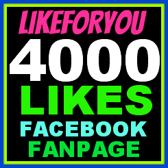 Give You 4000 + FACEBOOK Likes Guaranteed On Your Fans Page Without ID Password