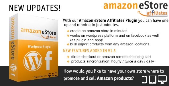 Provide You Amazon eStore Affiliates Wordpress Plugin - V1.3 - CodeCanyon
