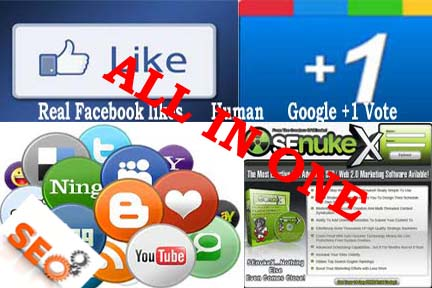 Provide you a (Amazing complete Package service) real 10000 (10k)Facebook like + Bonus (75 Google +1 vote +20 Bookmarking on high PR site + A amazing SEO soft ware) with full report
