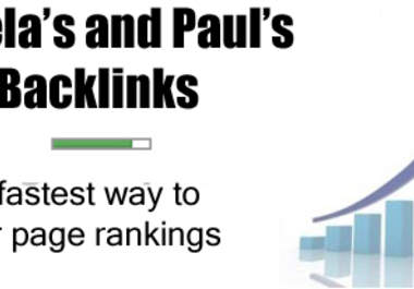 submit 500+ directories submission and create 50 Angela and Paul PR 3 to 6 seo quailty one way backlinks