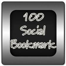 give you 100 social bookmark