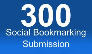 give you 300 social bookmark
