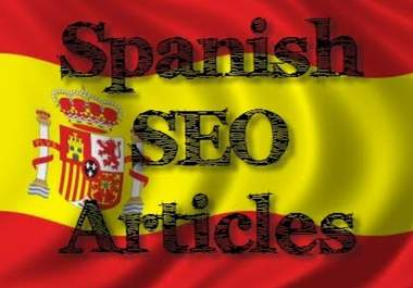 write a top quality SEO article in Spanish on any topic up to 300 words with perfect grammar