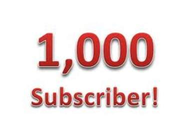 add you 1000+ Real YouTube Subscribers without admin access for
