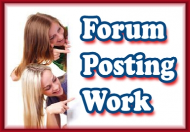 Give you PR6,PR5,PR4,PR3 total 1000 quality Forum Backlinks, all are manual Backlinks