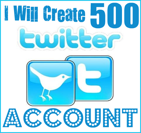 Create 1000 Twitter Accounts with Profiles