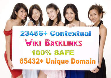 make 18000 backlinks from many unique domains backlink of seo wiki sites to give you best seos backlinking juice for seos google backlinke