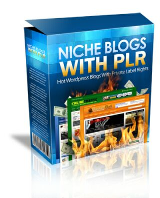 give you NICHE BLOGS with PLR - Hot Wordpress Blogs