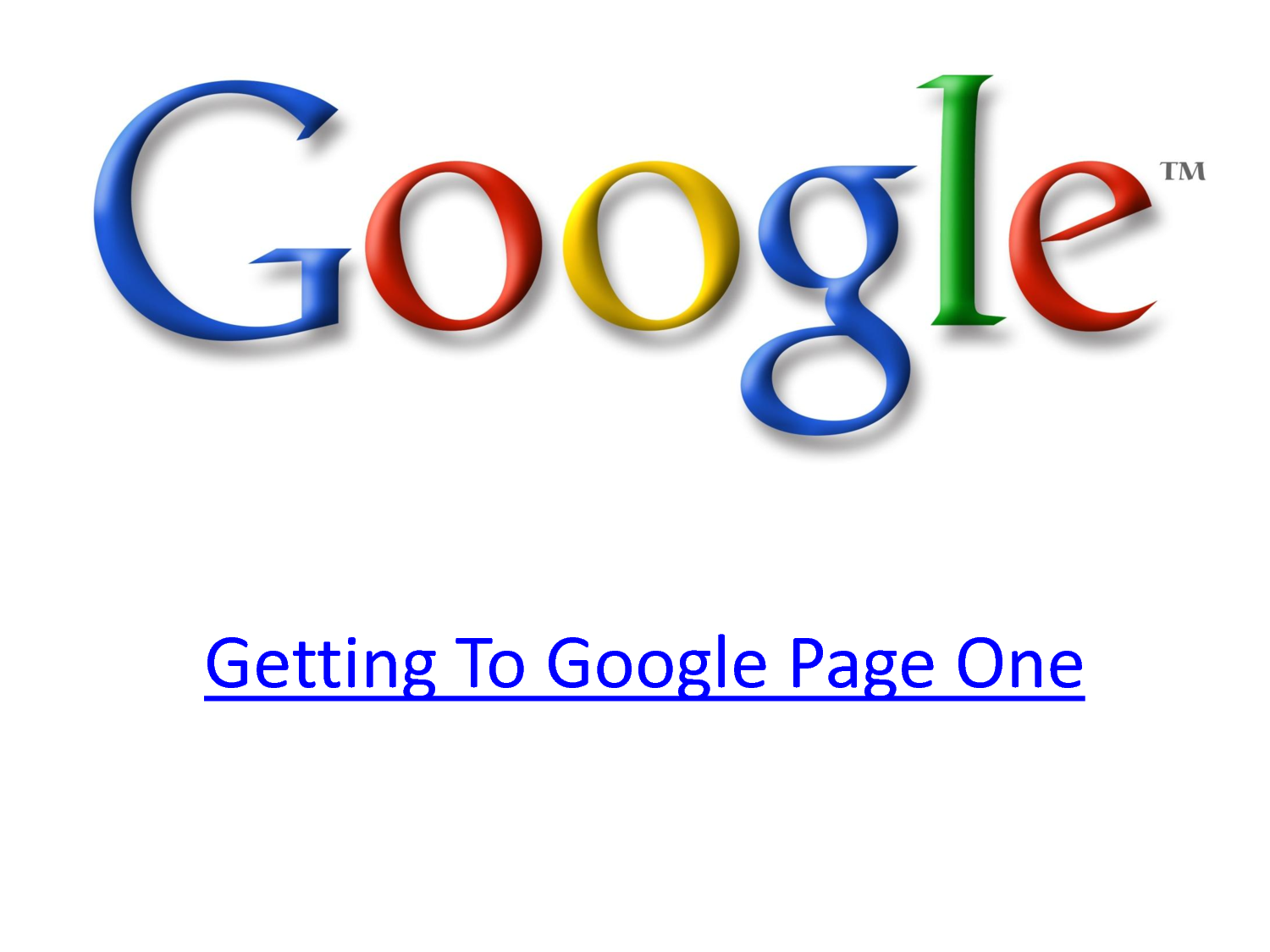 dominate the first page of Google with my EPIC link pyramid combining the latest link building strategies