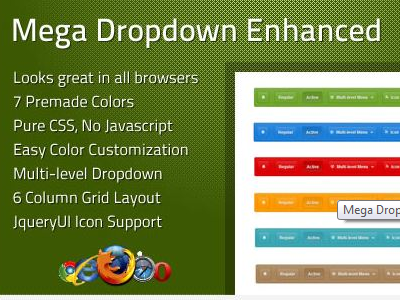 offer Mega Dropdown Menu Enhanced