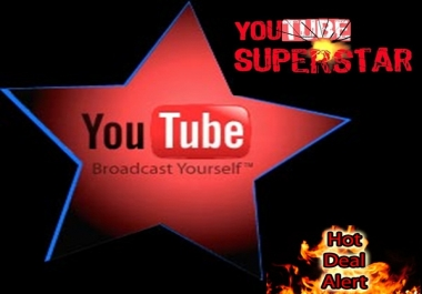 give you 60 000 youtube views, 200 video likes, 36 relevant comments and 300 channel subscribers