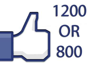 give u 4200 guaranteed facebook likes to your web page or fan page