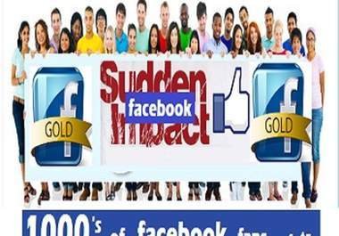 add 5800+ FACEBOOK fans likes to your fb fan page within 12hr