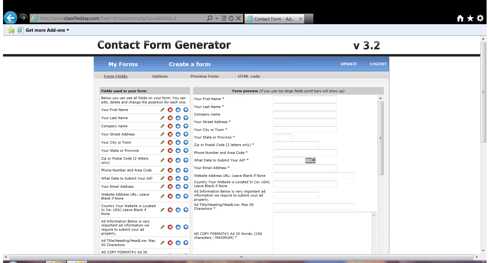 provide you the most awesome form generator