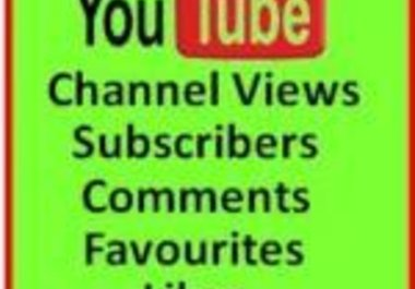 add 50 subscribers 99+ Likes and 1500+ views to your YouTube Videos {Top SEO Gig} Check the Reviews [Get Real Ranking Results] 