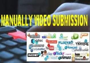 manually upload your video to 50+ high ranking most visited vids sharing sites