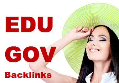 create 20 High PR7 to PR9 Edu and Gov Backlinks
