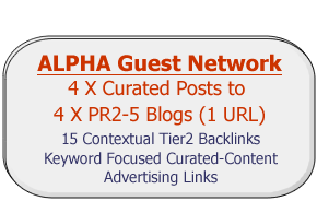 help you create 4 Guest Blog Posts with Google Favorite Curation Curated Content to our Guest Post Network ALPHA from PR2 to PR5
