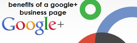 create a Googleplus page and promote it for your increasing sales for your business