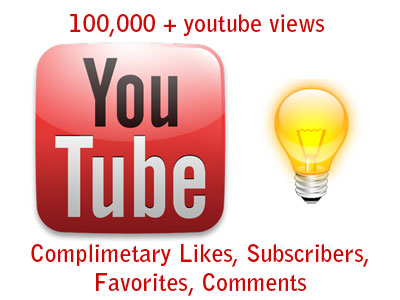 offer 111k + youtube views with likes and subscribers