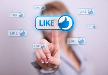 send you 100 Facebook likes to fanpage or webpage