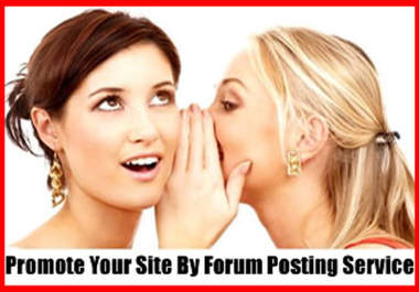 provide quality Forum Posting Service with 1000 Forum Post Backlinks