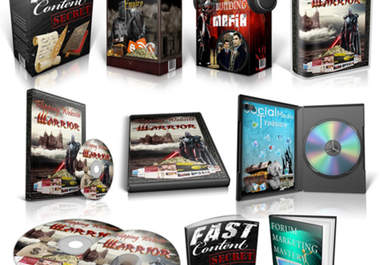 design professional looking ebook covers, 3d software boxes, product boxes, cd/dvd cover only
