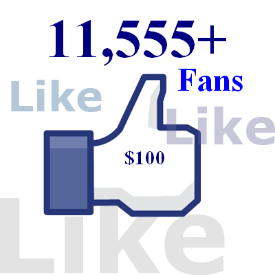 add 11,555+ facebook page likes, all real and active fb fans, pagelikes, fbfans, facebook pages, fanpages
